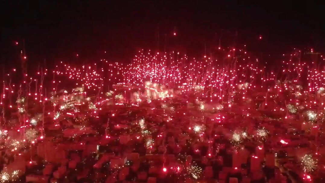 Setki odpalonych rac w jednym momencie. Tak swoje 70-lecie obchodziła najstarsza grupa kibicowska w Europie