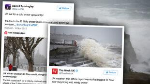 Wielka Brytania: teraz wichury, w perspektywie jedna z najgorszych zim w historii