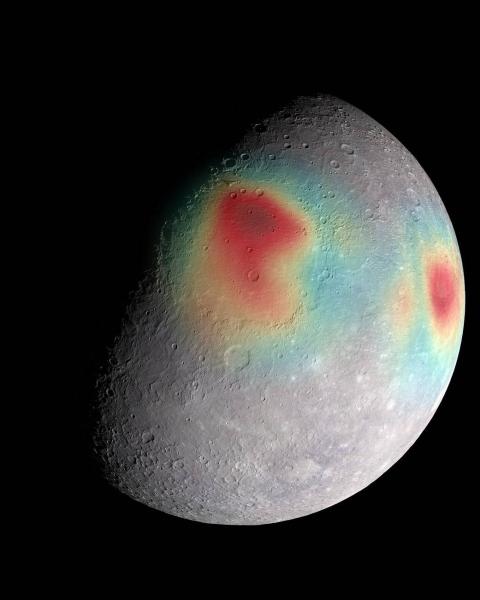 Merkury (NASA/JHUAPL/Carnegie Institution of Washington/USGS/Arizona State University)