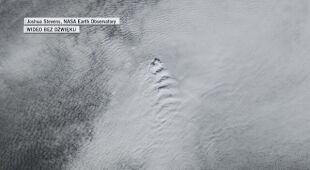 Fale chmur nad Islandią