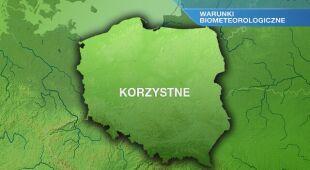 Warunki biometeo w środę 24.02