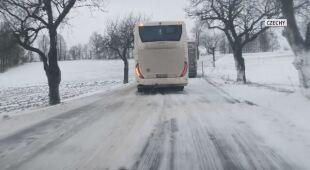W Czechach zima na całego